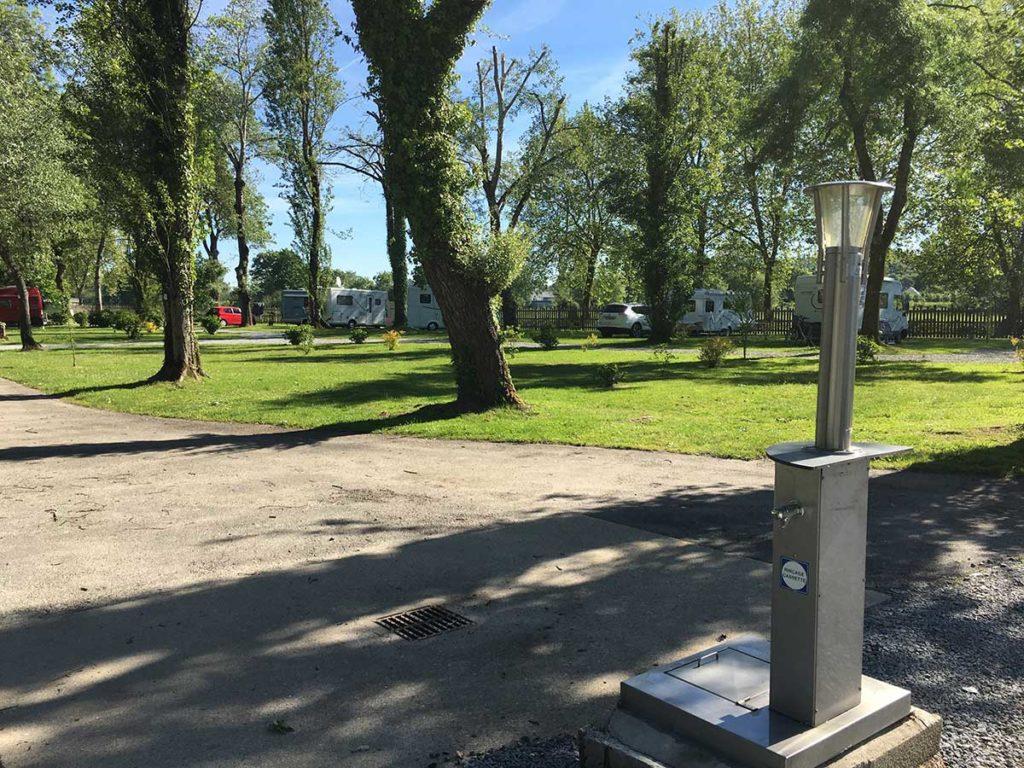 emplacements de camping pour randonneurs