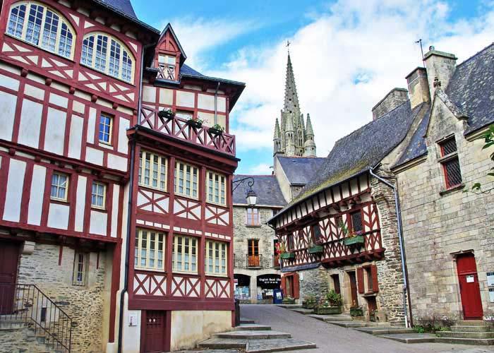 Cité de Josselin Morbihan
