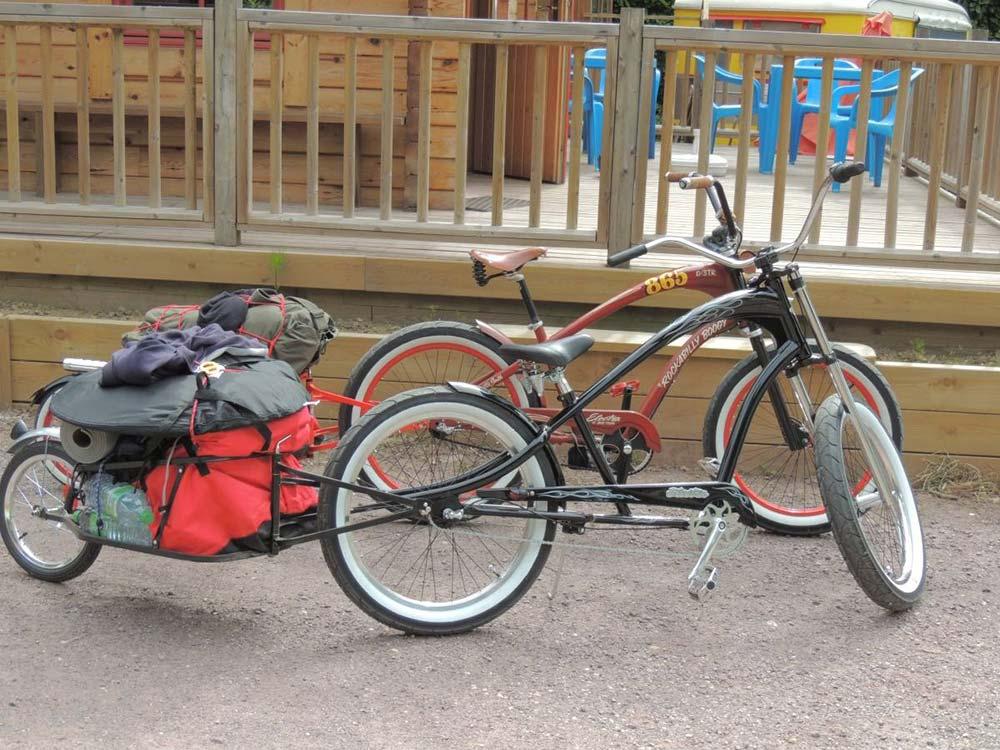 location de vélos Domaine du Roc
