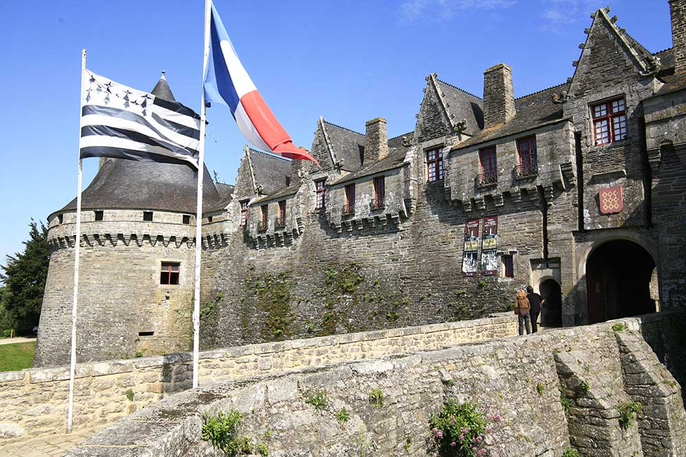 chateau de Pontivy des Rohan