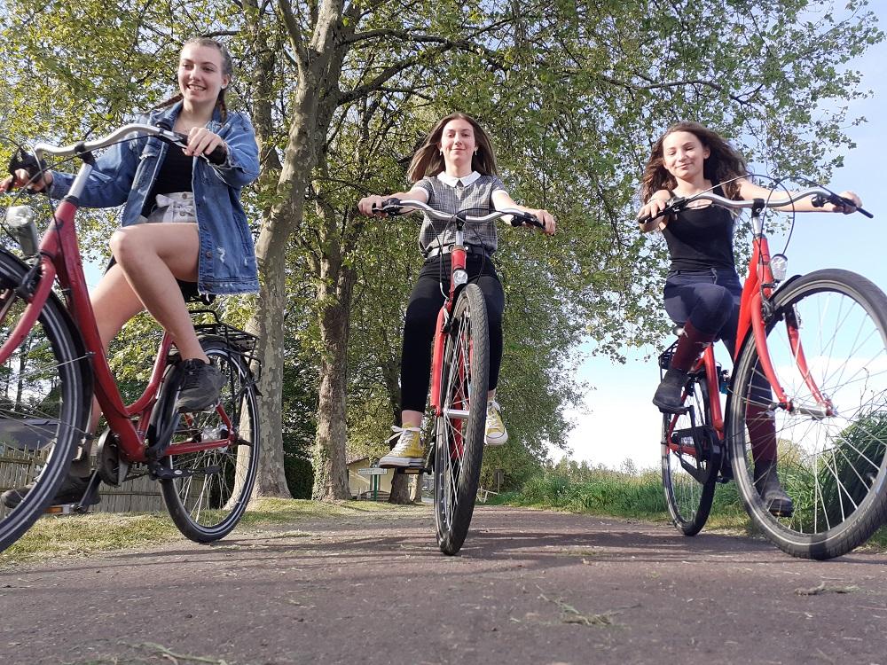 vélo sur le halage