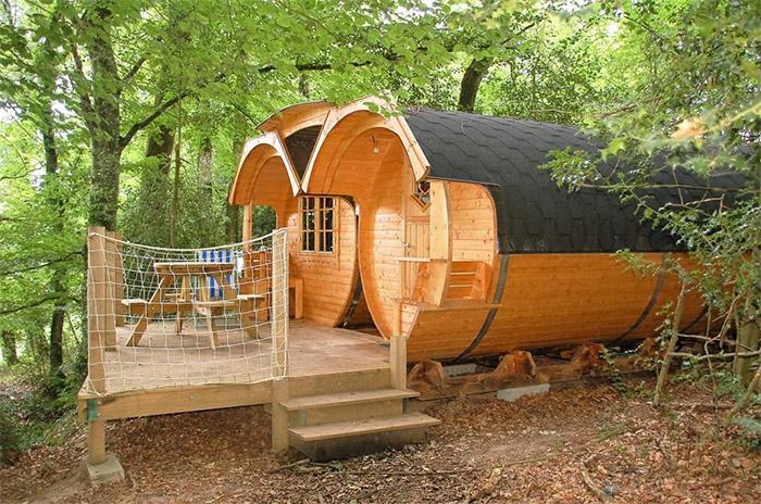 location camping pêche canal de Nantes à Brest