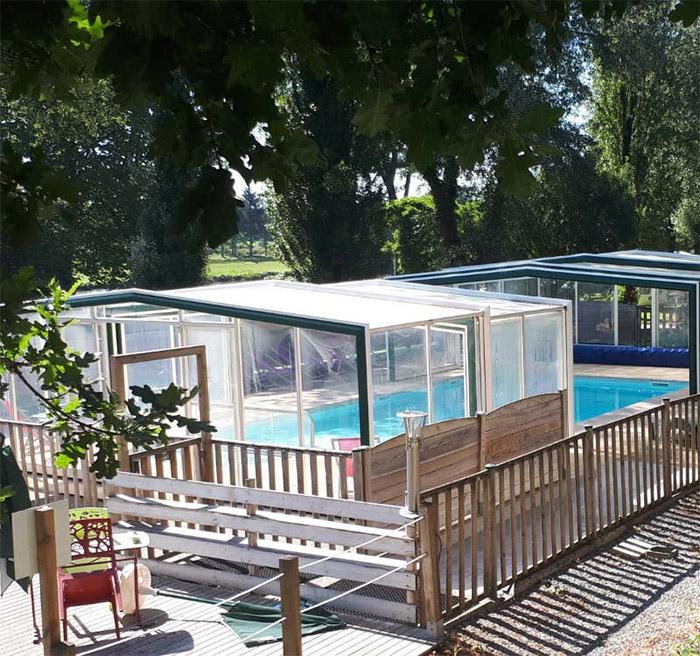 camping piscine canal de Nantes à Brest