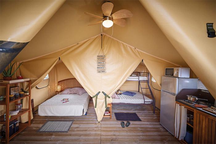 camping nature Morbihan